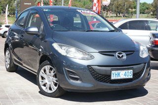 2011 Mazda 2 DE10Y1 MY10 Neo Grey 5 Speed Manual Hatchback.