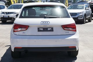 2015 Audi A1 8X MY14 Attraction Sportback S Tronic White 7 Speed Sports Automatic Dual Clutch