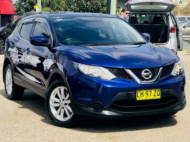 Used Nissan Qashqai J11 ST Liverpool, 2016 Nissan Qashqai J11 ST Blue 1 Speed Constant Variable Wagon