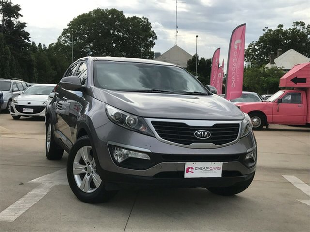 Used Kia Sportage SL MY12 SI Toowoomba, 2012 Kia Sportage SL MY12 SI Silver 5 Speed Manual Wagon