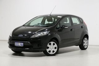 2013 Ford Fiesta WT CL Black 6 Speed Automatic Hatchback.