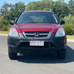 2002 Honda CR-V RD MY2002 4WD Red 4 Speed Automatic Wagon.