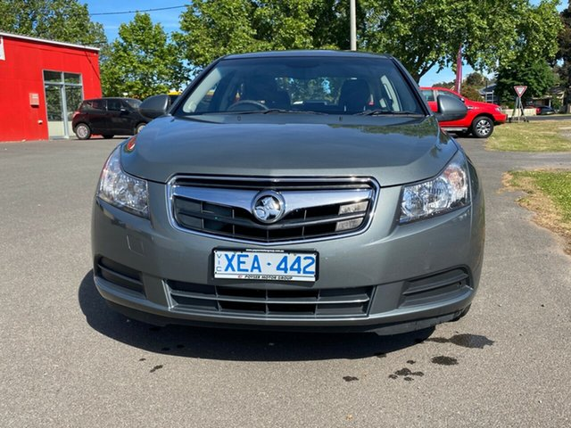 Used Holden Cruze JG CD Bendigo, 2009 Holden Cruze JG CD Grey 6 Speed Sports Automatic Sedan
