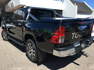 2018 Toyota Hilux GUN126R SR5 Double Cab Black 6 Speed Sports Automatic Utility
