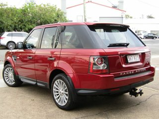 2010 Land Rover Range Rover Sport L320 10MY TDV6 Red 6 Speed Sports Automatic Wagon.