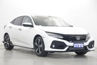 2019 Honda Civic 10th Gen MY20 RS White 1 Speed Constant Variable Hatchback