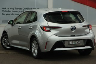 2020 Toyota Corolla ZWE211R Ascent Sport E-CVT Hybrid Silver Pearl 10 Speed Constant Variable.