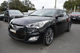 2015 Hyundai Veloster FS5 Series II Coupe Black 6 Speed Manual Hatchback