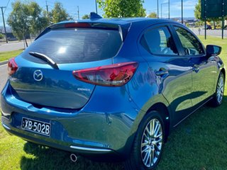 2020 Mazda 2 DJ2HAA G15 SKYACTIV-Drive Evolve Eternal Blue 6 Speed Sports Automatic Hatchback