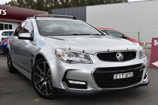 Used Holden Commodore VF II MY16 SS V Tuggerah, 2016 Holden Commodore VF II MY16 SS V Silver 6 Speed Sports Automatic Sedan