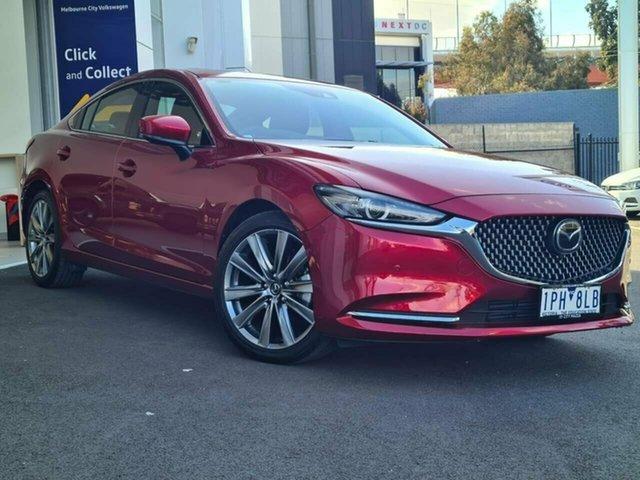 Used Mazda 6 Port Melbourne, 2018 Mazda 6 Atenza Red 6 Speed Automatic Sedan
