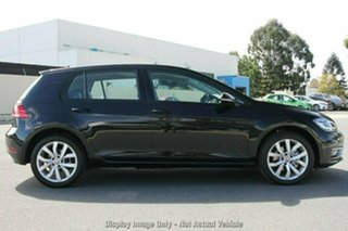 2020 Volkswagen Golf 7.5 MY20 110TSI DSG Highline Black 7 Speed Sports Automatic Dual Clutch