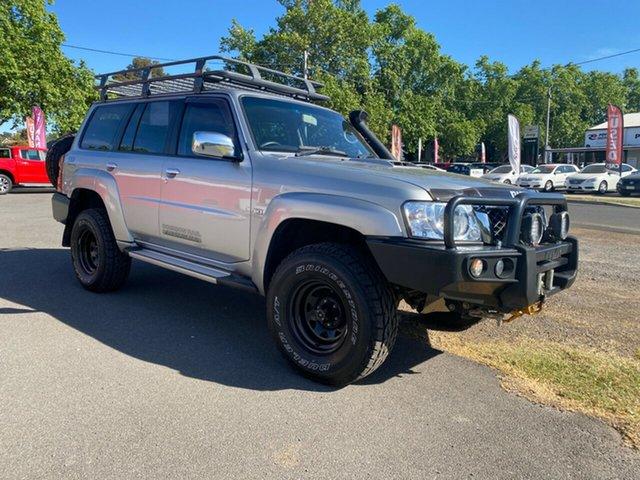 Used Nissan Patrol Y61 GU 10 ST Bendigo, 2015 Nissan Patrol Y61 GU 10 ST Platinum 5 Speed Manual Wagon