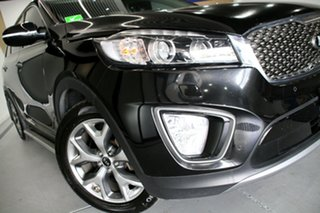 2016 Kia Sorento UM MY16 Platinum (4x4) Aurora Black 6 Speed Automatic Wagon.