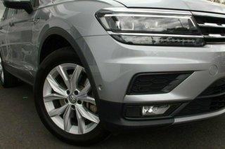 2019 Volkswagen Tiguan ALLSPACE 132TSI Silver 7 Speed Automatic Wagon.