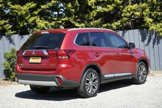 2015 Mitsubishi Outlander ZK MY16 XLS 4WD Red 6 Speed Sports Automatic Wagon