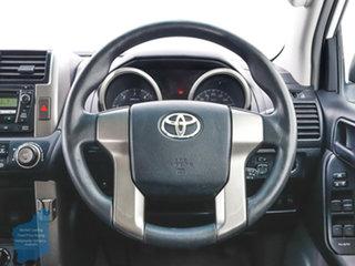 2011 Toyota Landcruiser Prado KDJ150R GX (4x4) White 6 Speed Manual Wagon