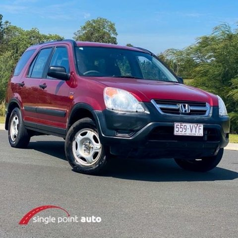 Used Honda CR-V RD MY2002 4WD Chevallum, 2002 Honda CR-V RD MY2002 4WD Red 4 Speed Automatic Wagon