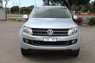 2013 Volkswagen Amarok 2H MY13 TDI420 Highline (4x4) Silver 8 Speed Automatic Dual Cab Utility.