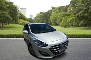 2014 Hyundai i30 GD2 Active Billet Silver 6 Speed Manual Hatchback.
