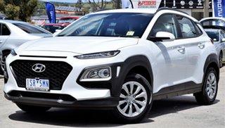 2020 Hyundai Kona OS.3 MY20 Go 2WD Chalk White 6 Speed Sports Automatic Wagon.
