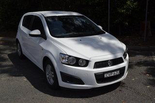 2014 Holden Barina TM MY14 CD White 5 Speed Manual Hatchback.