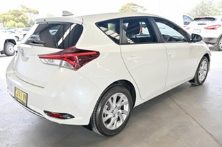2016 Toyota Corolla ZRE182R Ascent Sport S-CVT Crystal Pearl 7 Speed Constant Variable Hatchback