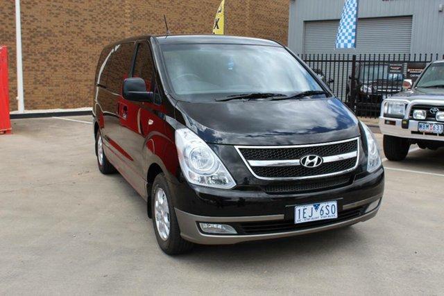Used Hyundai iMAX TQ MY13 Hoppers Crossing, 2013 Hyundai iMAX TQ MY13 Black 4 Speed Automatic Wagon
