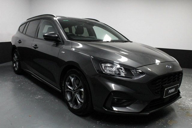 Used Ford Focus SA 2019MY ST-Line Hamilton, 2018 Ford Focus SA 2019MY ST-Line Grey 8 Speed Automatic Wagon