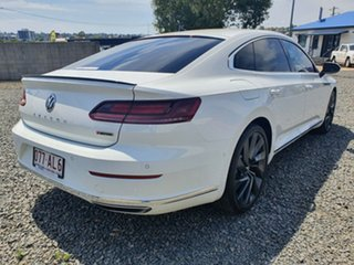 2017 Volkswagen Arteon 3H MY18 206TSI Sedan DSG 4MOTION R-Line White 7 Speed
