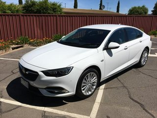 2018 Holden Calais ZB MY18 Liftback White 9 Speed Sports Automatic Liftback.