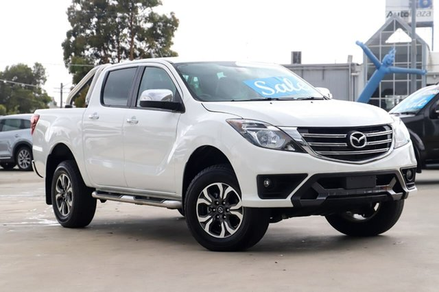 Used Mazda BT-50 UR0YG1 GT Kirrawee, 2019 Mazda BT-50 UR0YG1 GT White 6 Speed Sports Automatic Utility