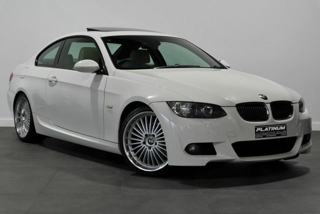Used BMW 3 Series E92 MY08 323i Steptronic Bayswater, 2008 BMW 3 Series E92 MY08 323i Steptronic White 6 Speed Sports Automatic Coupe