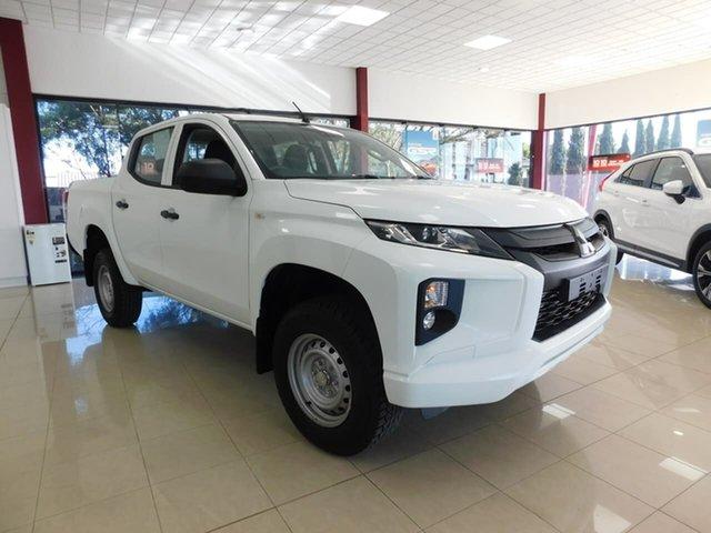 Used Mitsubishi Triton MR MY19 GLX Double Cab Wonthaggi, 2019 Mitsubishi Triton MR MY19 GLX Double Cab White 6 Speed Sports Automatic Utility