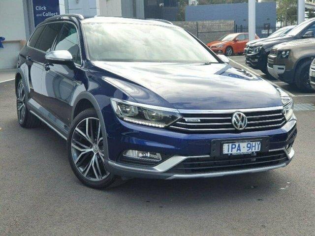 Used Volkswagen Passat Port Melbourne, 2018 Volkswagen Passat Alltrack Wolfsb Blue 7SPD DSG TRANS Wagon