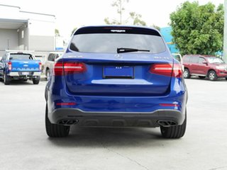 2018 Mercedes-Benz GLC-Class X253 809MY GLC43 AMG 9G-Tronic 4MATIC Blue 9 Speed Sports Automatic