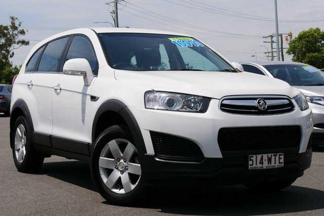 Used Holden Captiva CG MY15 7 LS Hillcrest, 2015 Holden Captiva CG MY15 7 LS White 6 Speed Sports Automatic Wagon