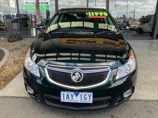2014 Holden Cruze JH MY14 Equipe Green 6 Speed Automatic Sedan.