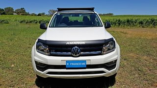 2019 Volkswagen Amarok 2H MY19 TDI550 4MOTION Perm Core White 8 Speed Automatic Utility.