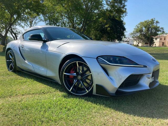Pre-Owned Toyota Supra J29 GR GTS South Grafton, 2019 Toyota Supra J29 GR GTS Suzuka Silver 8 Speed Sports Automatic Coupe