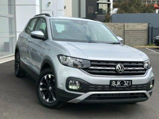2020 Volkswagen T-Cross C1 MY20 85TSI DSG FWD Life Silver 7 Speed Sports Automatic Dual Clutch Wagon.