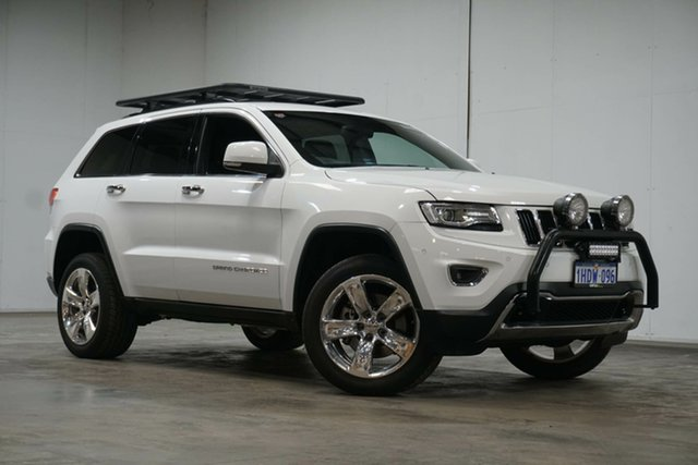 Used Jeep Grand Cherokee WK MY15 Limited Welshpool, 2015 Jeep Grand Cherokee WK MY15 Limited White 8 Speed Sports Automatic Wagon