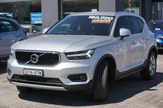 2018 Volvo XC40 XZ MY19 T4 Momentum Silver 8 Speed Sports Automatic Wagon.