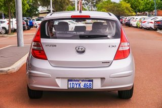 2012 Hyundai i30 FD MY11 SLX Silver 4 Speed Automatic Hatchback.