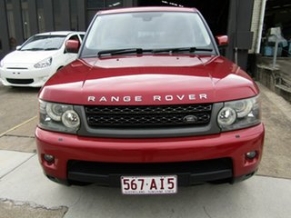 2010 Land Rover Range Rover Sport L320 10MY TDV6 Red 6 Speed Sports Automatic Wagon