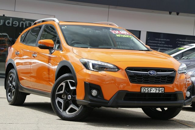 Used Subaru XV G5X MY18 2.0i-S Lineartronic AWD Homebush, 2017 Subaru XV G5X MY18 2.0i-S Lineartronic AWD Orange 7 Speed Constant Variable Wagon