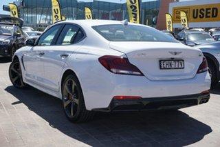 2018 Genesis G70 IK MY19 Sport White 8 Speed Sports Automatic Sedan