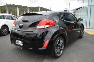 2015 Hyundai Veloster FS5 Series II Coupe Black 6 Speed Manual Hatchback.