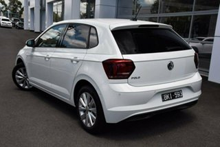 2020 Volkswagen Polo AW MY20 85TSI DSG Style White 7 Speed Sports Automatic Dual Clutch Hatchback.