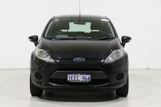 2013 Ford Fiesta WT CL Black 6 Speed Automatic Hatchback